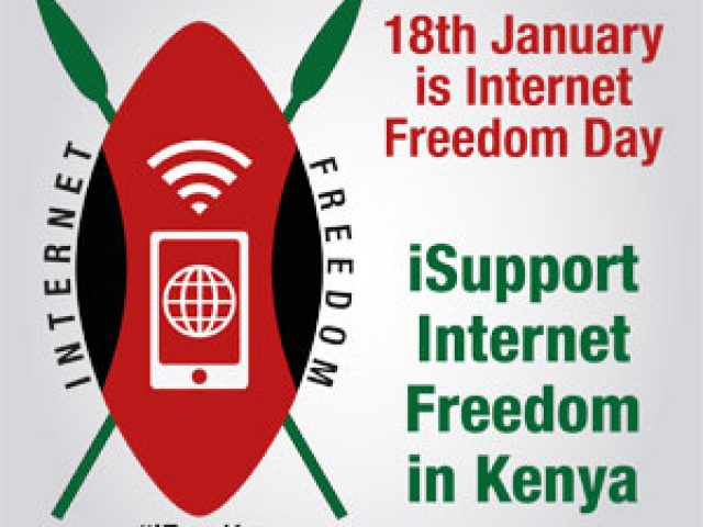 The logo for iFreedoms program promoting internet Freedoms Kenya