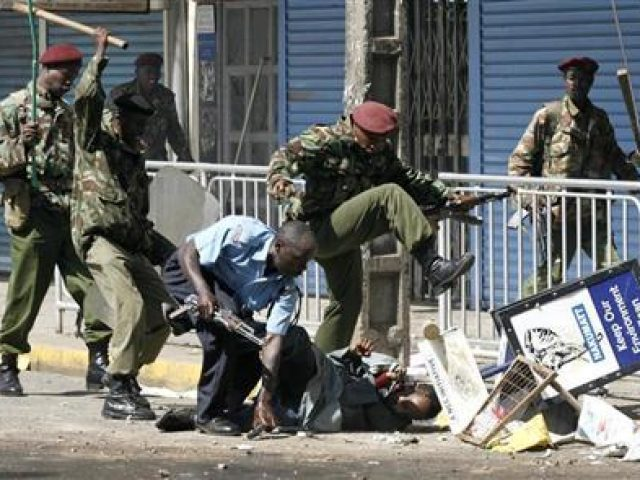 Police Arrests in Kenya