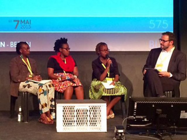 The Africa blogging panel at re:publica 15