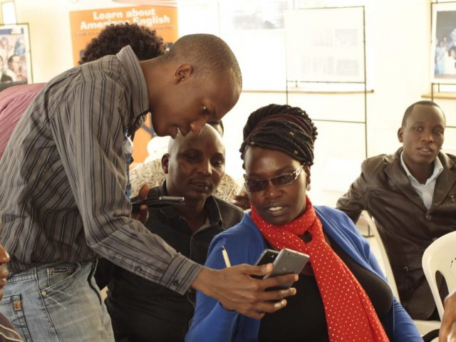 Bloggers in Nakuru learn about Securing their Data Online