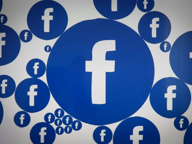Facebook social network on digital devices